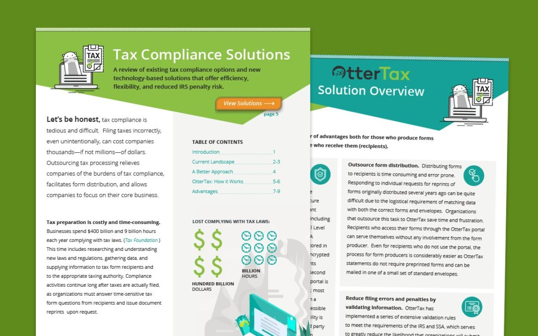 Tax Compliance Solutions
